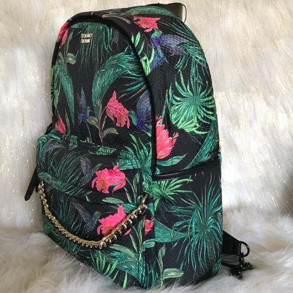 5b9899478fcbc Victoria's Secret Floral Backpack